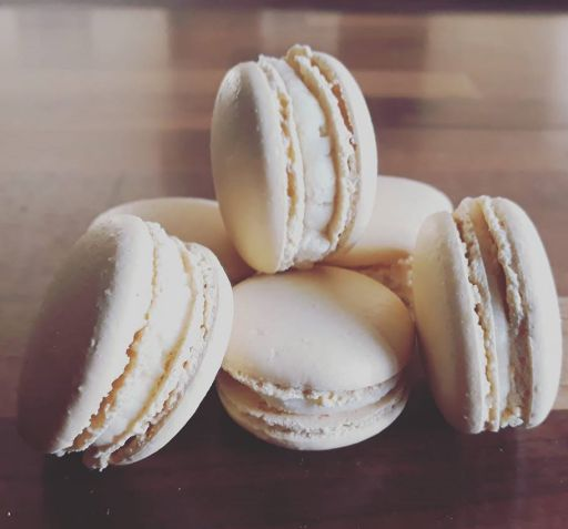 Home made macarons